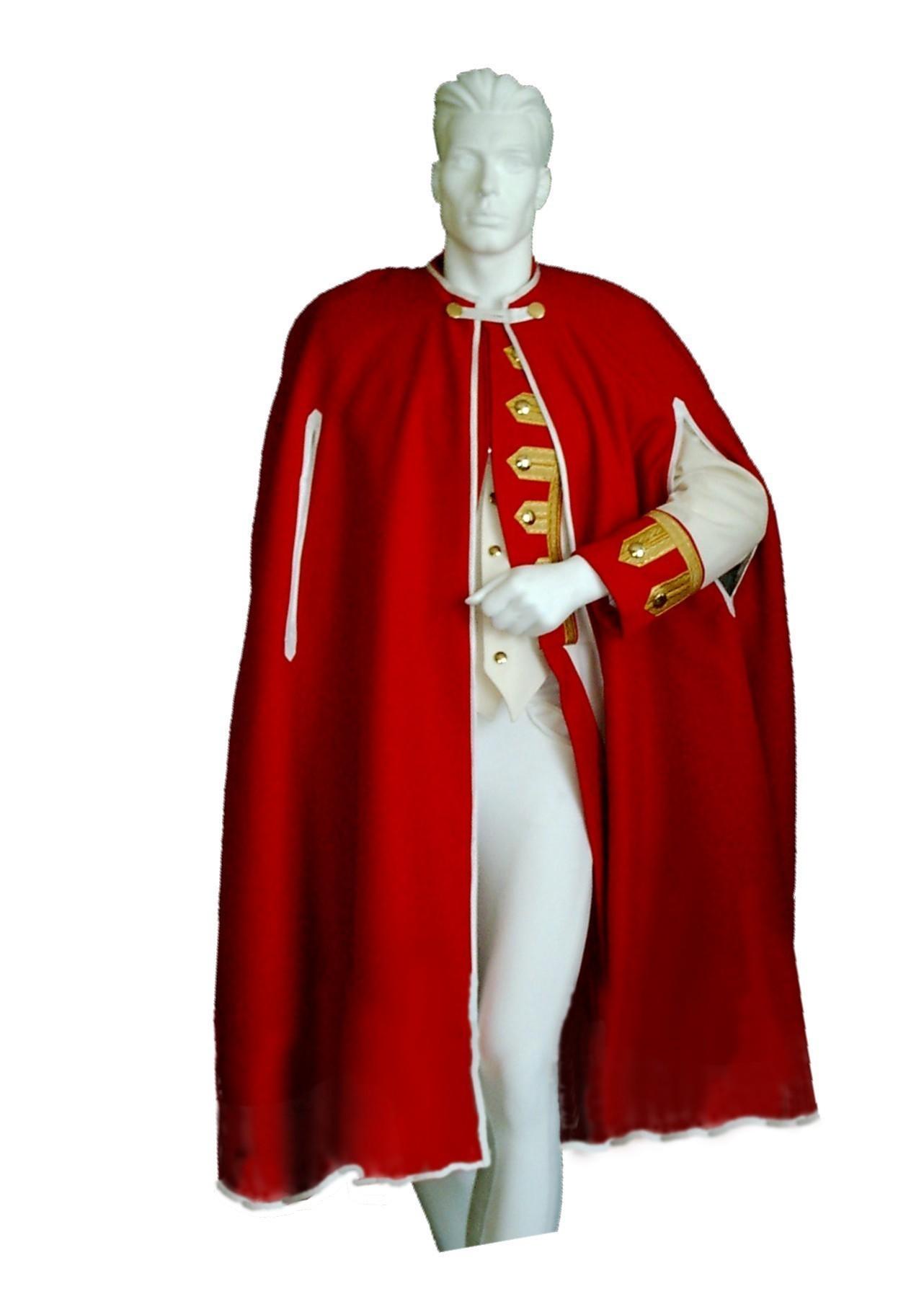 Bajazzokarneval De Gardeumhang Gardeumhange Cape Poncho Uniform